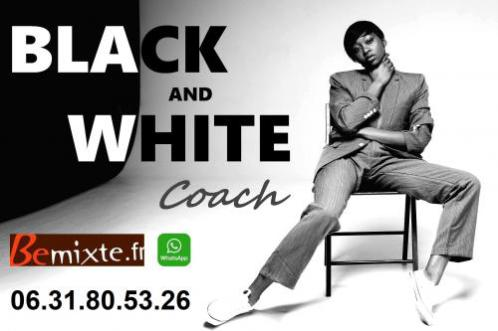 Coach Black and White