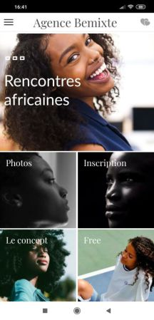 application rencontre africaine