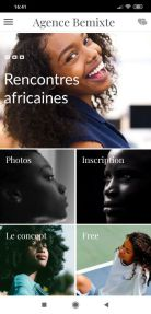 application rencontres africaines